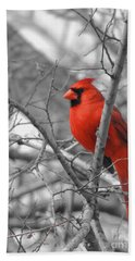 Cardinal Of Hope 002sc Bath Towel