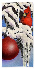 Cardinal One Ball Bath Towel