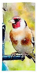 Carduelis Carduelis 'waterfinch' Hand Towel
