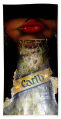 Carib Beer Hand Towel