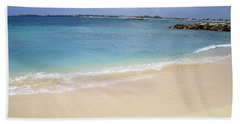 Bath Towel featuring the photograph Caribbean Beach Front by Fiona Kennard