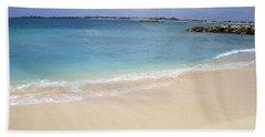 Caribbean Beach Front Hand Towel by Fiona Kennard