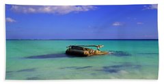 Bath Towel featuring the photograph Caribbean Colors  by Eti Reid
