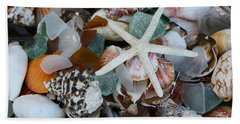 Hand Towel featuring the photograph Caribbean Shells by The Art of Alice Terrill