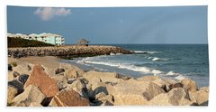 Hand Towel featuring the photograph Carolina Coast by Cynthia Guinn