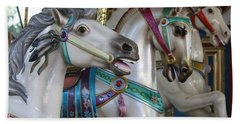 Carousel Bath Towel by Donna Walsh