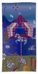 Carousel  Hand Towel by Gabriela Delgado