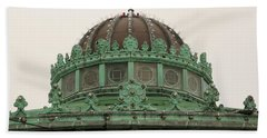 Hand Towel featuring the photograph Carousel Roof Asbury Park Nj by John Williams