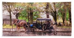 Carriage Rides Series 03 Hand Towel