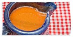 Carrot Juice Hand Towel