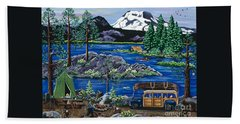 Cascade Lake Sparks Bath Towel