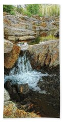 Cascading Downward Bath Towel