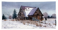 Cache Valley Barn Hand Towel
