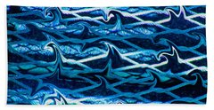 Bath Towel featuring the photograph Cast Your Net Upon The Waters by Stephanie Grant