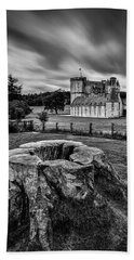 Castle Fraser Hand Towel by Dave Bowman