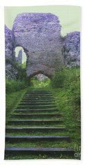 Bath Towel featuring the photograph Castle Gate by John Williams