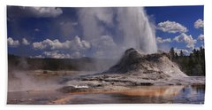 Castle Geyser Bath Towel