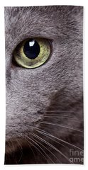 Cat Eye Bath Towel