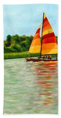 Catamaran  Hand Towel