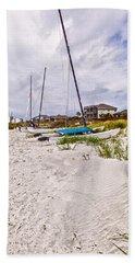 Bath Towel featuring the photograph Catamaran by Sennie Pierson