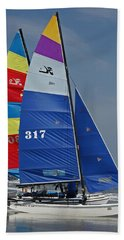 Catamarans Hand Towel