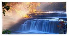 Cataract Falls Indiana Hand Towel