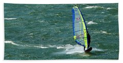 Catching Wind And Surf Bath Towel by Susan Garren