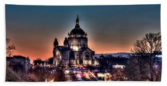 Cathedral Of Saint Paul Hand Towel by Amanda Stadther