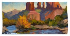 Cathedral Rock 2 Hand Towel by Diane McClary