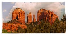 Cathedral Rock Sunset Bath Towel
