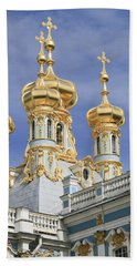 Hand Towel featuring the photograph Catherine's Palace by Victoria Harrington