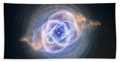 Cat's Eye Nebula Bath Towel