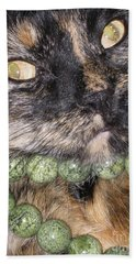 One In A Million... Beauty Of Cat's Eyes. Hello Pearl Collection Bath Towel