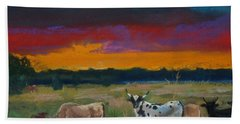 Cattle's Cadence Hand Towel