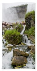 Cave Of The Winds At Niagara Falls Hand Towel
