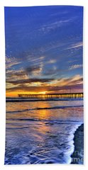 Cayucos Sunset Hand Towel