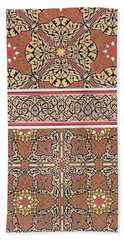 Ceiling Arabesques From The Mosque Of El-bordeyny Hand Towel