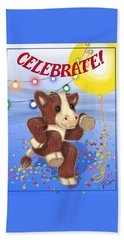 Celebrate Hand Towel by Jerry Ruffin
