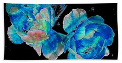 Celestial Blooms Hand Towel by Stephanie Grant