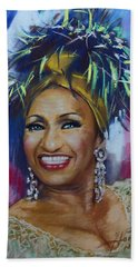 Celia Cruz Bath Towel