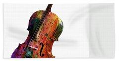 Violin Hand Towel