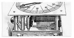 Census Machine, 1890 Bath Towel
