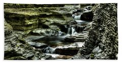 Central Cascade Watkins Glen Hand Towel