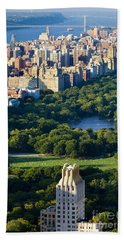 Central Park Hand Towel by Brian Jannsen