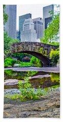 Central Park Nature Oasis Bath Towel