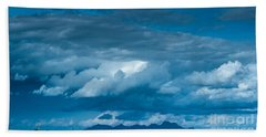 Central Valley Clouds Bath Towel