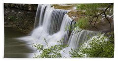 Bath Towel featuring the photograph Chagrin Falls by Dale Kincaid