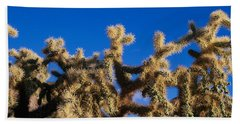 Chainfruit Cholla Cactus Saguaro Bath Towel