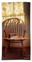 Chair And Lace Shadows Hand Towel