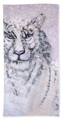 Hand Towel featuring the painting Chairman Of The Board by Phyllis Kaltenbach